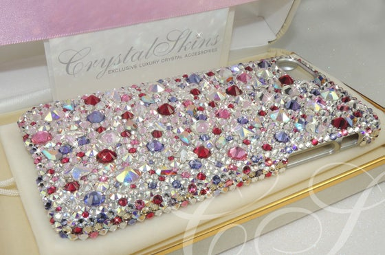 Image of 'Summer Berries' Fully Covered Case for iPhone 7 with Crystals by Swarovski®