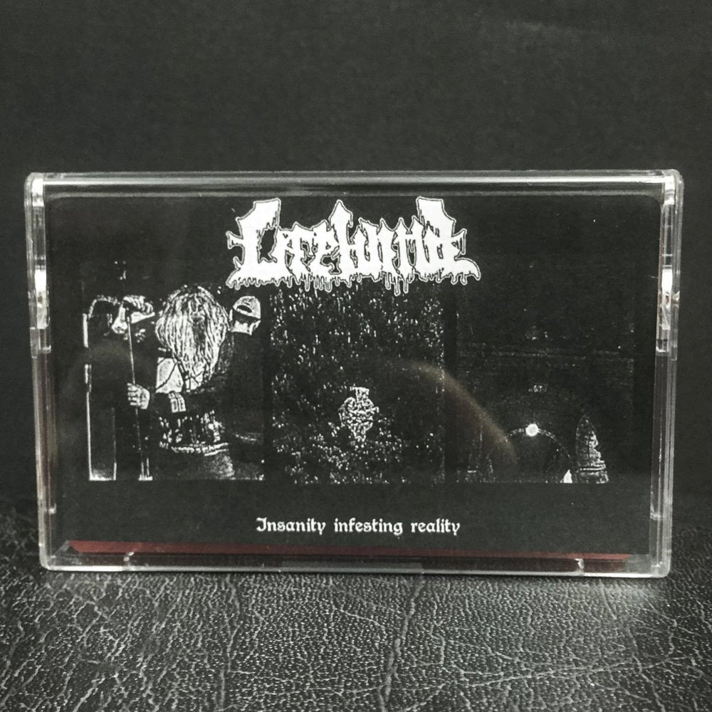 Image of LIFEBLIND - INSANITY INFESTING REALITY EP | CASSETTE TAPE