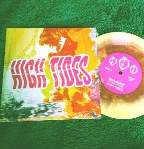 "Image of High Tides ""Malibuds/Silken Sands"" 7"" vinyl single"