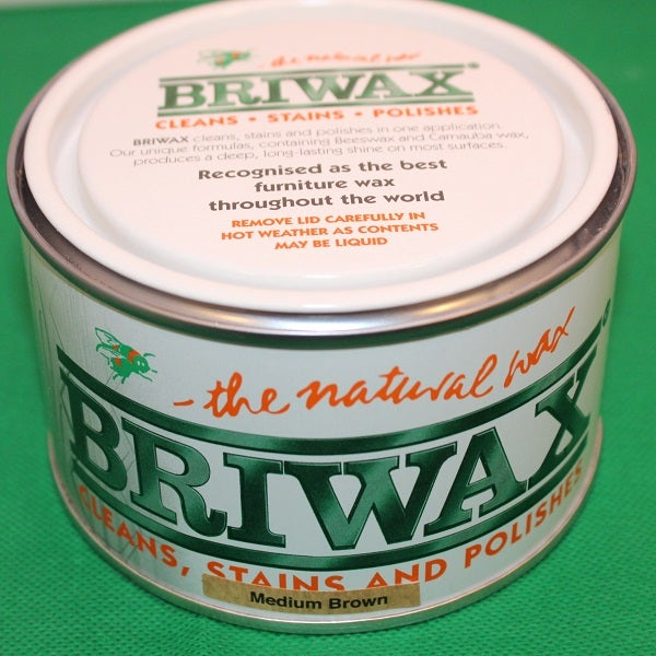 Image of Briwax Medium Brown - 400g