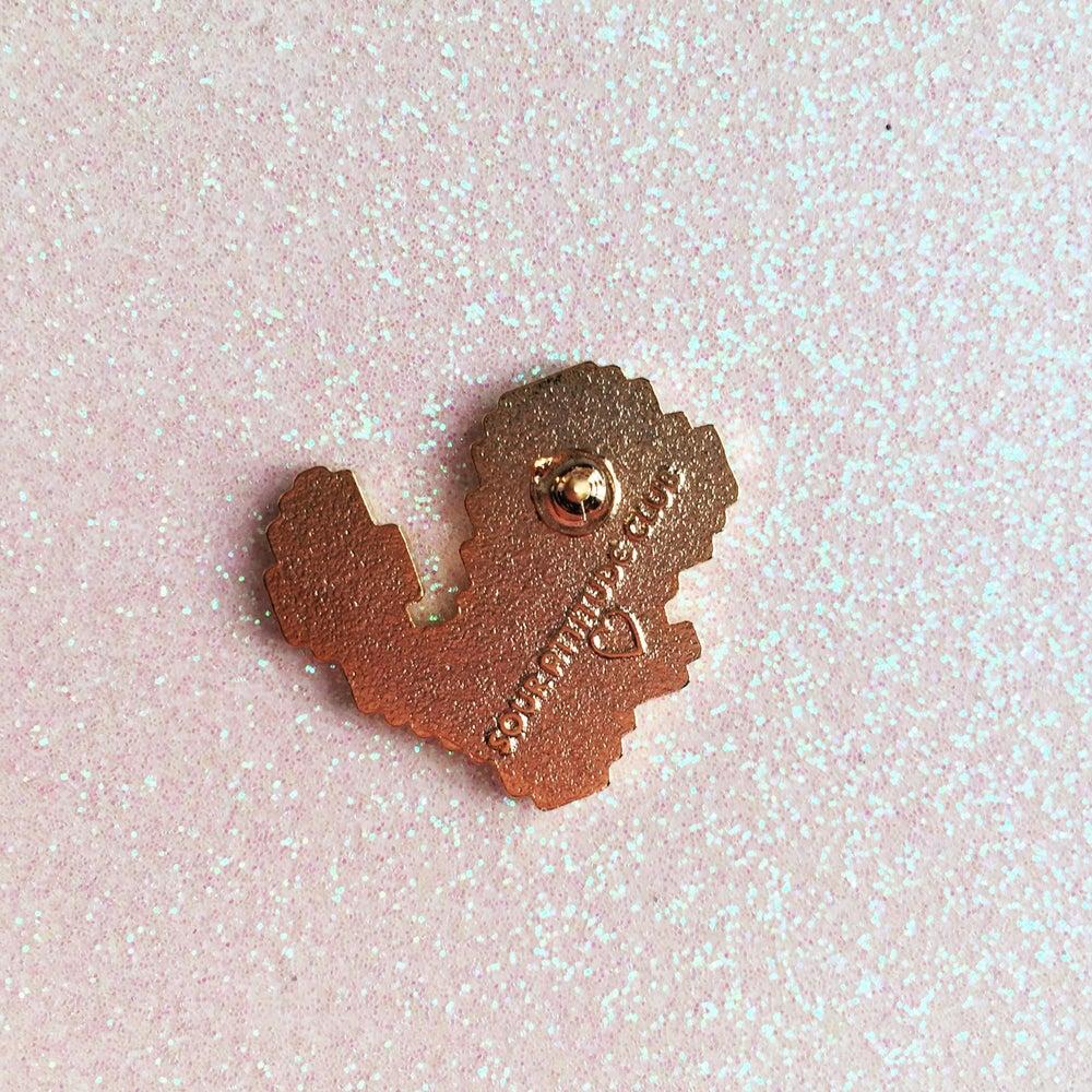 Image of 8bit Charmander Enamel Pin