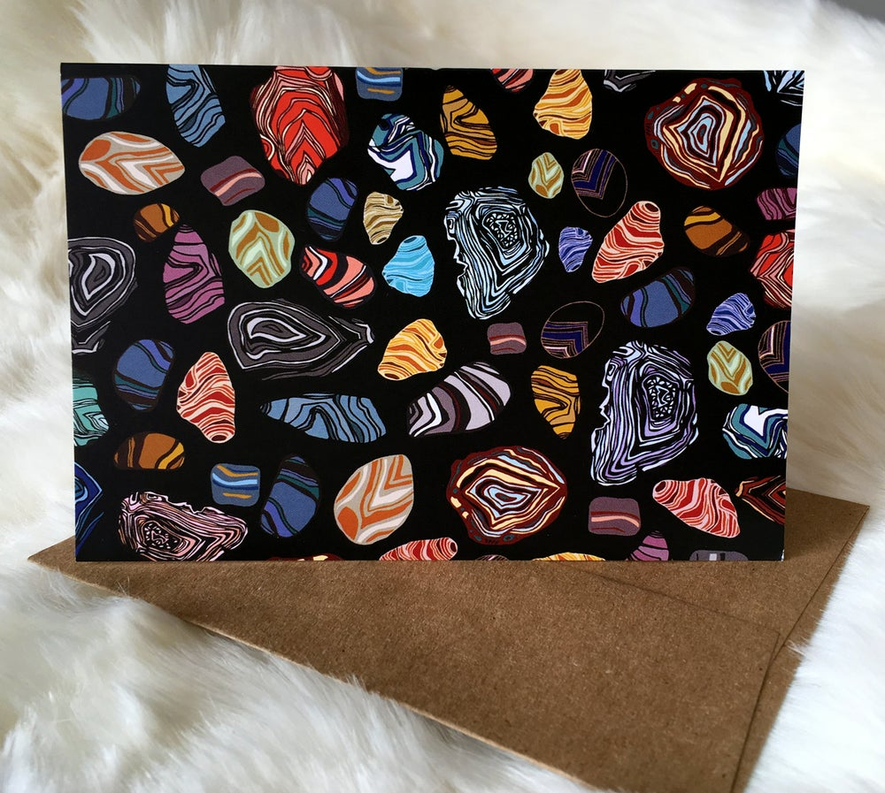 Image of Agate Note Cards Set