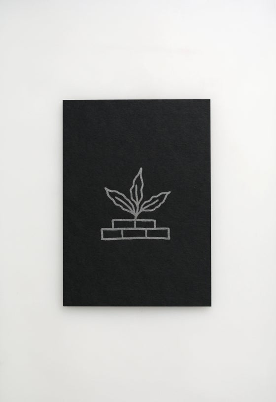 Image of Growing Plant Letterpress