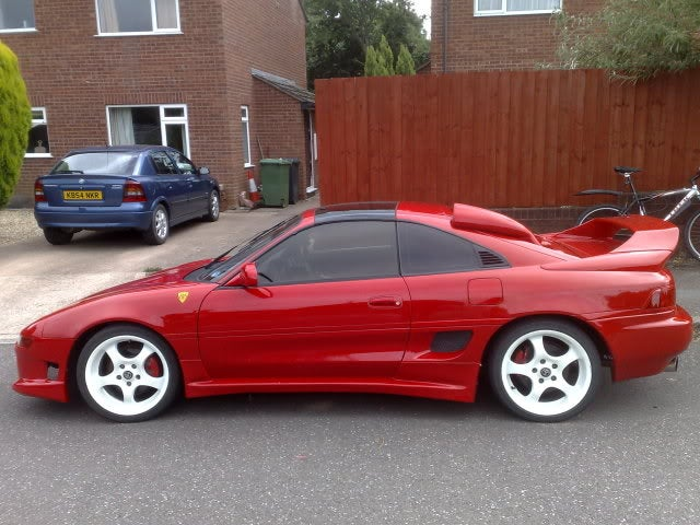 Auto Add Ons >> Camposites — 91-99 MR2 MK2 SW20 Rookie Side Skirts