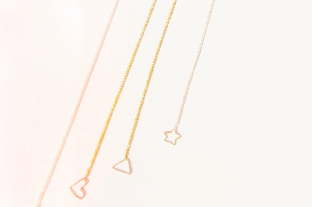 Image of Charmed long y-necklace