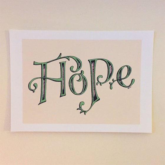 Image of Hope print