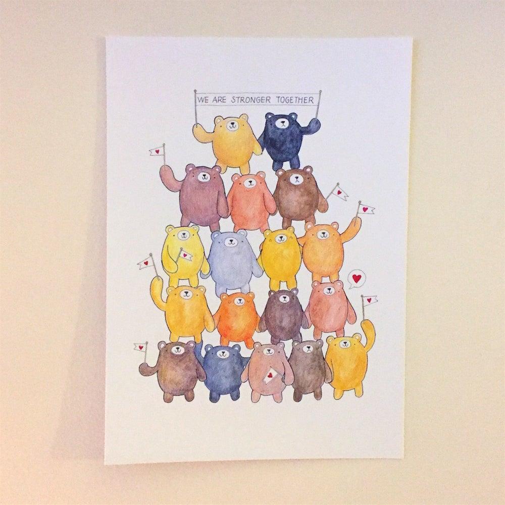 Image of Together print