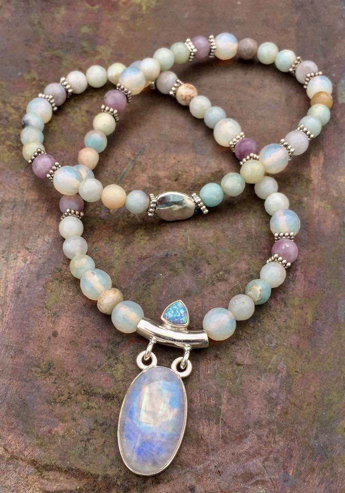 Image of Kwan Yin Goddess of Compassion/Protector of Children Necklace