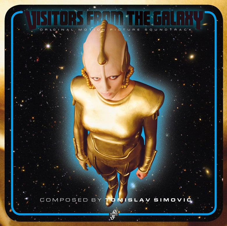 Image of Tomislav Simovic - Visitors From The Galaxy LP (Original Motion Picture Soundtrack)