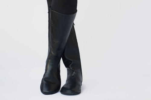 Image of Riding style boots - Vera in Matte Black