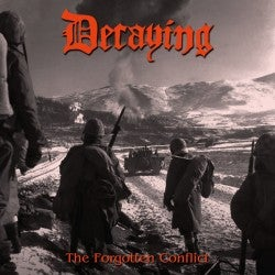 "Image of Decaying "" Forgotten Conflict Compilation "" CD"