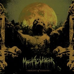 "Image of Megascavenger ""Descent of Yuggoth "" CD"
