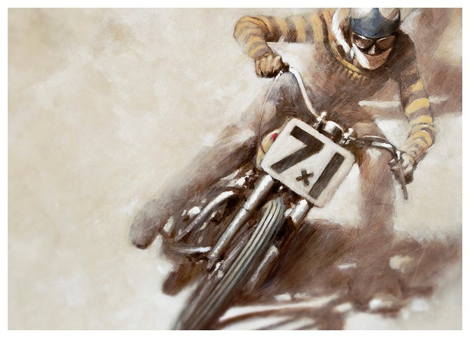 Image of '#71 (Vintage Dirt Track I)'