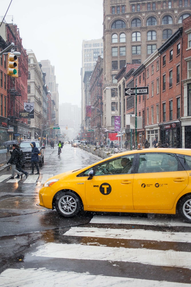 Image of Cab in the Snow 6