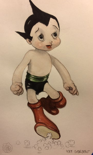 Image of Astro boy by Matt Gordon
