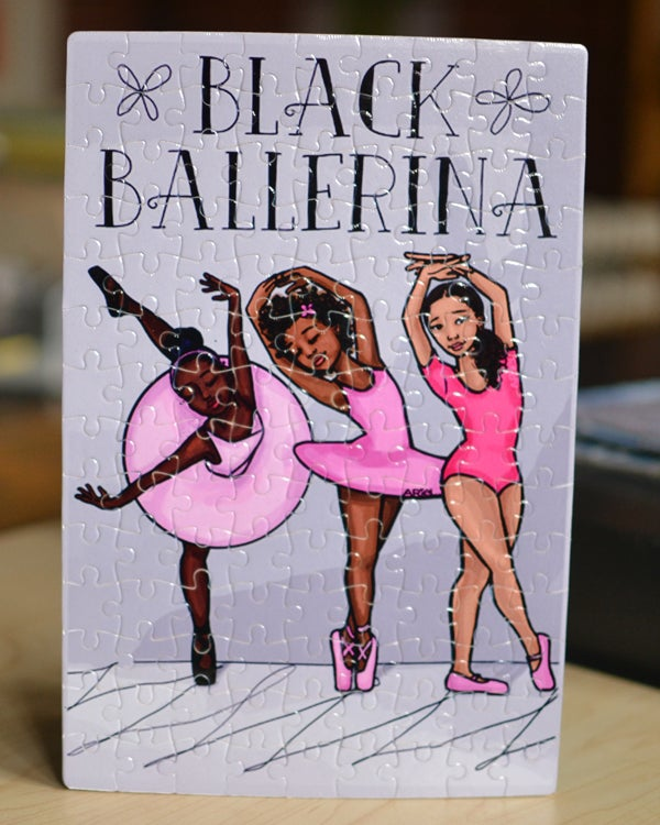 Image of Black Ballerina Puzzles