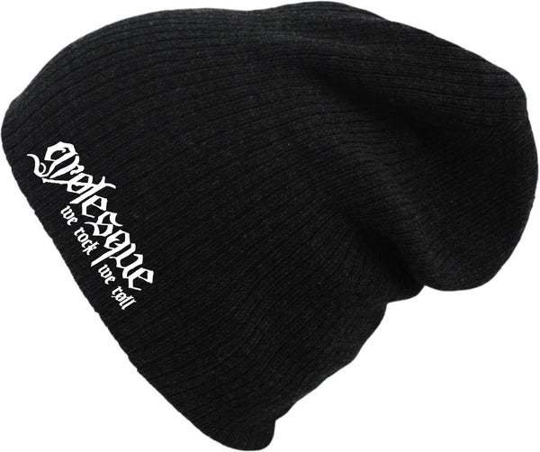 Image of LOGO EMBROIDERED WOOL BEANIE