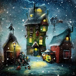 """Millie´s mansion"" - Alexander Jansson Shop"