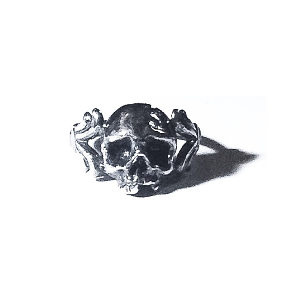 Image of Baroque Cataphile ring in sterling silver or 14k gold