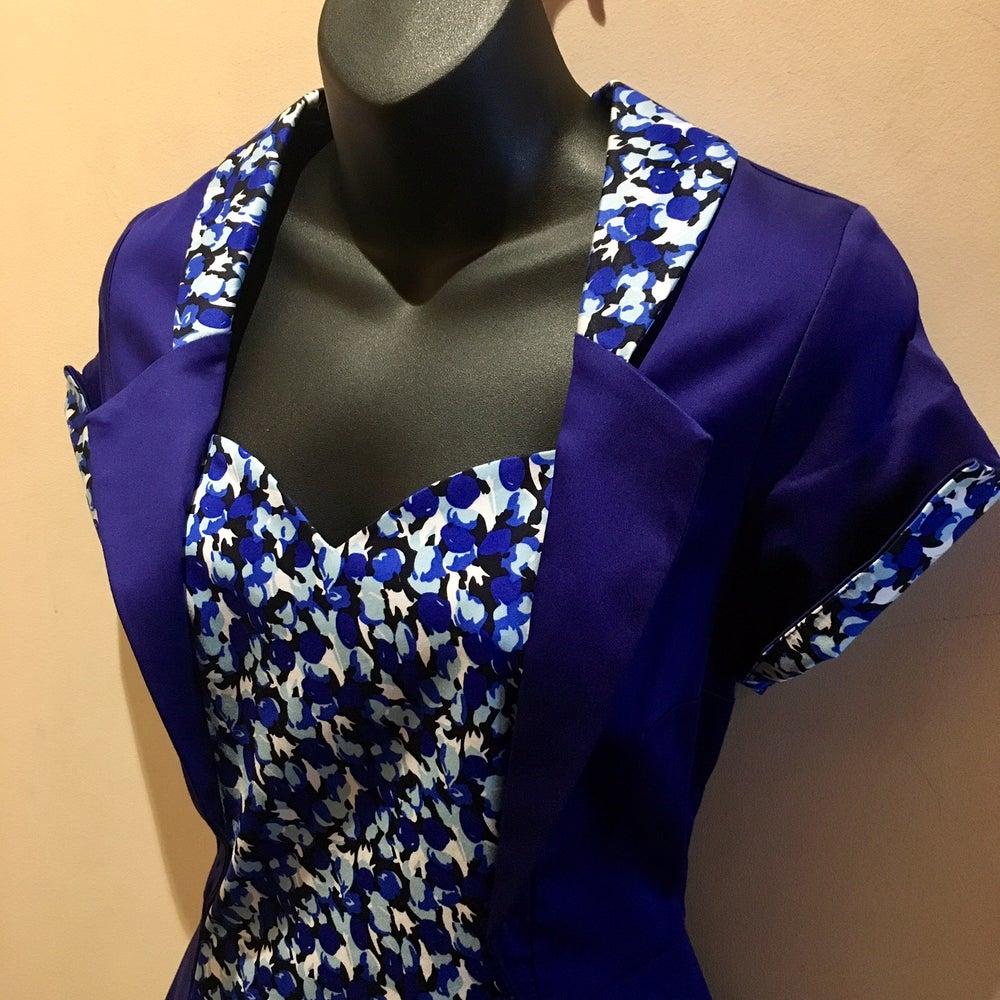 Image of CELIA PEPLUM DRESS