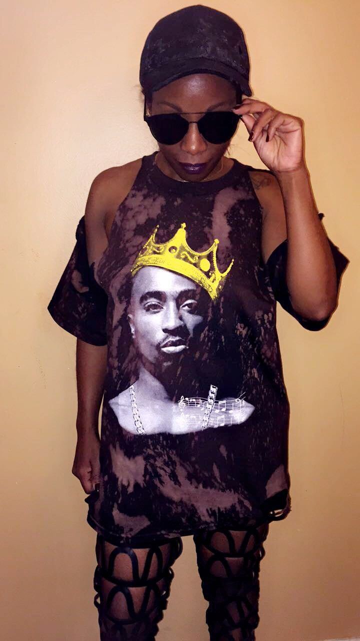 Image of King Pac Distressed
