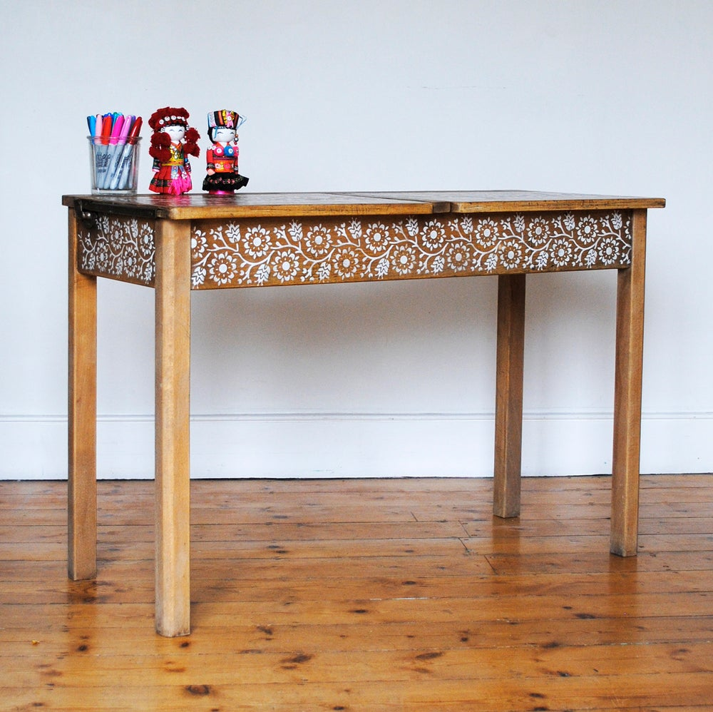 Image of Ida Vintage School Desk