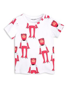 Image of Frogs SS tee, Cerise, MINI RODINI