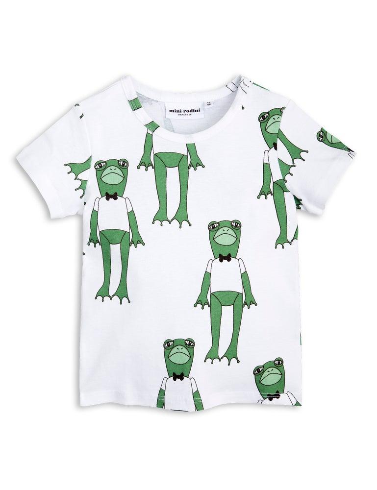 Image of Frogs SS tee, Green, MINI RODINI