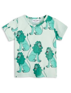 Image of Lion SS tee, Light green, MINI RODINI