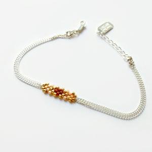 Image of Bracelet Flocon - 2 couleurs