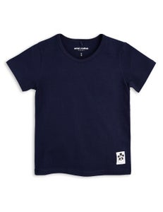 Image of Basic SS tee, Navy, MINI RODINI