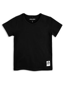 Image of Basic SS tee, Black, MINI RODINI
