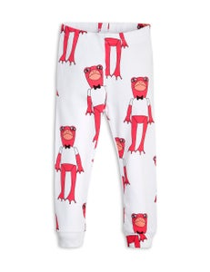 Image of Frogs leggings, Cerise, MINI RODINI