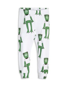 Image of Frogs leggings, Green, MINI RODINI