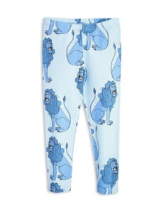 Image of Lion leggings, Light blue, MINI RODINI