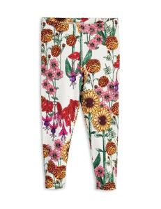 Image of Garden leggings, Off white, MINI RODINI