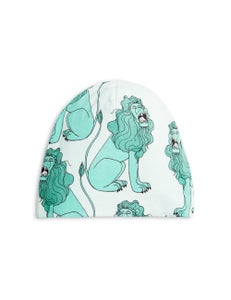 Image of Lion beanie, Light green, MINI RODINI