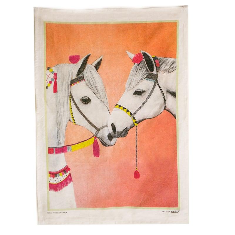 Image of Horses Tea Towel
