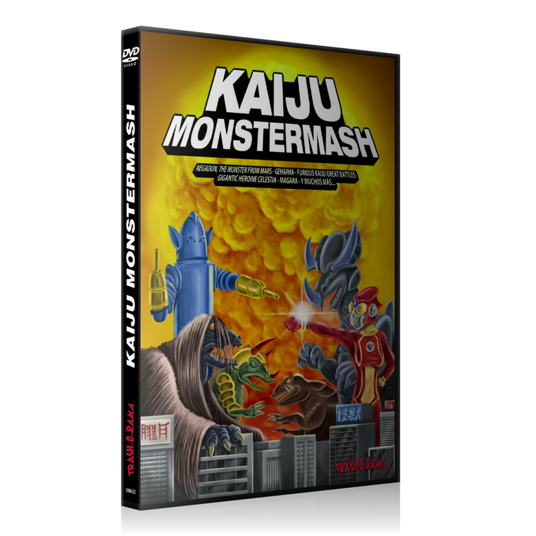 Image of Kaiju Monstermash