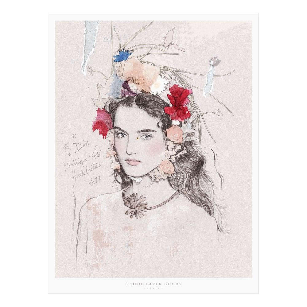 Image of Dior Haute Couture P/E 2017 - Affiche 'Fine Art'