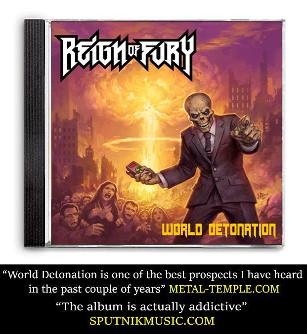 Image of WORLD DETONATION CD