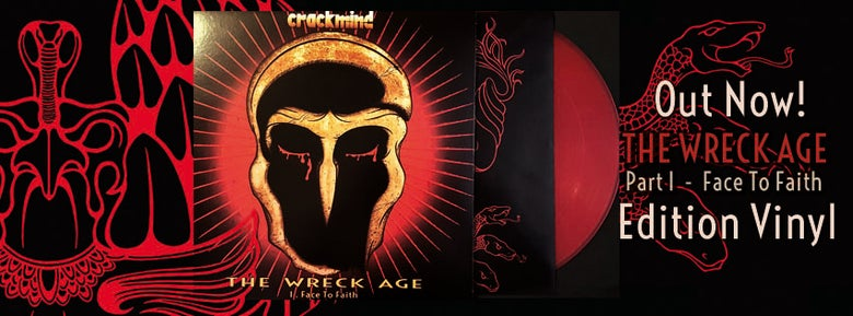 Image of NEW - 'THE WRECK AGE - I. FACE TO FAITH' - VINYL