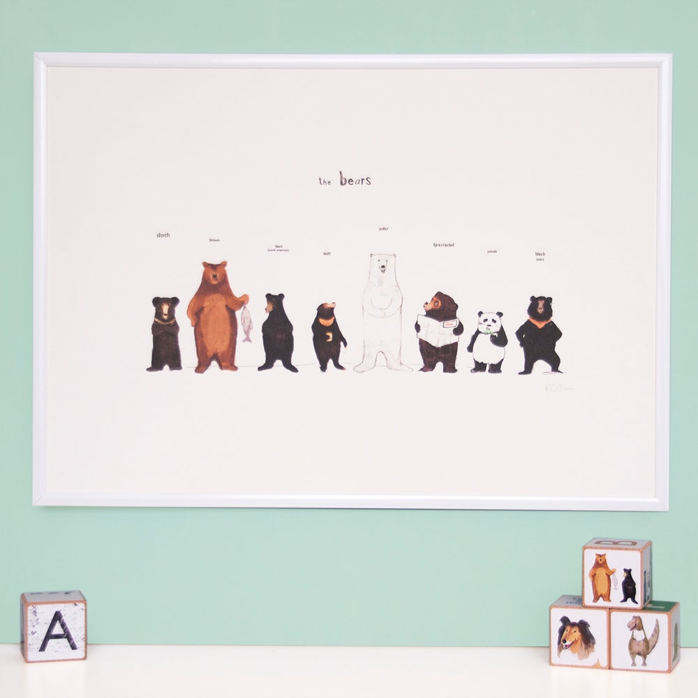 Image of The Bear Family Print
