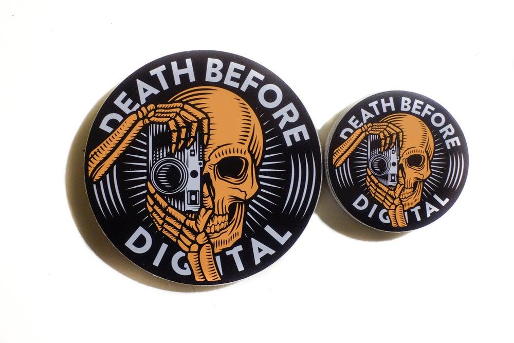 Image of Death Before Digital Sticker Pack
