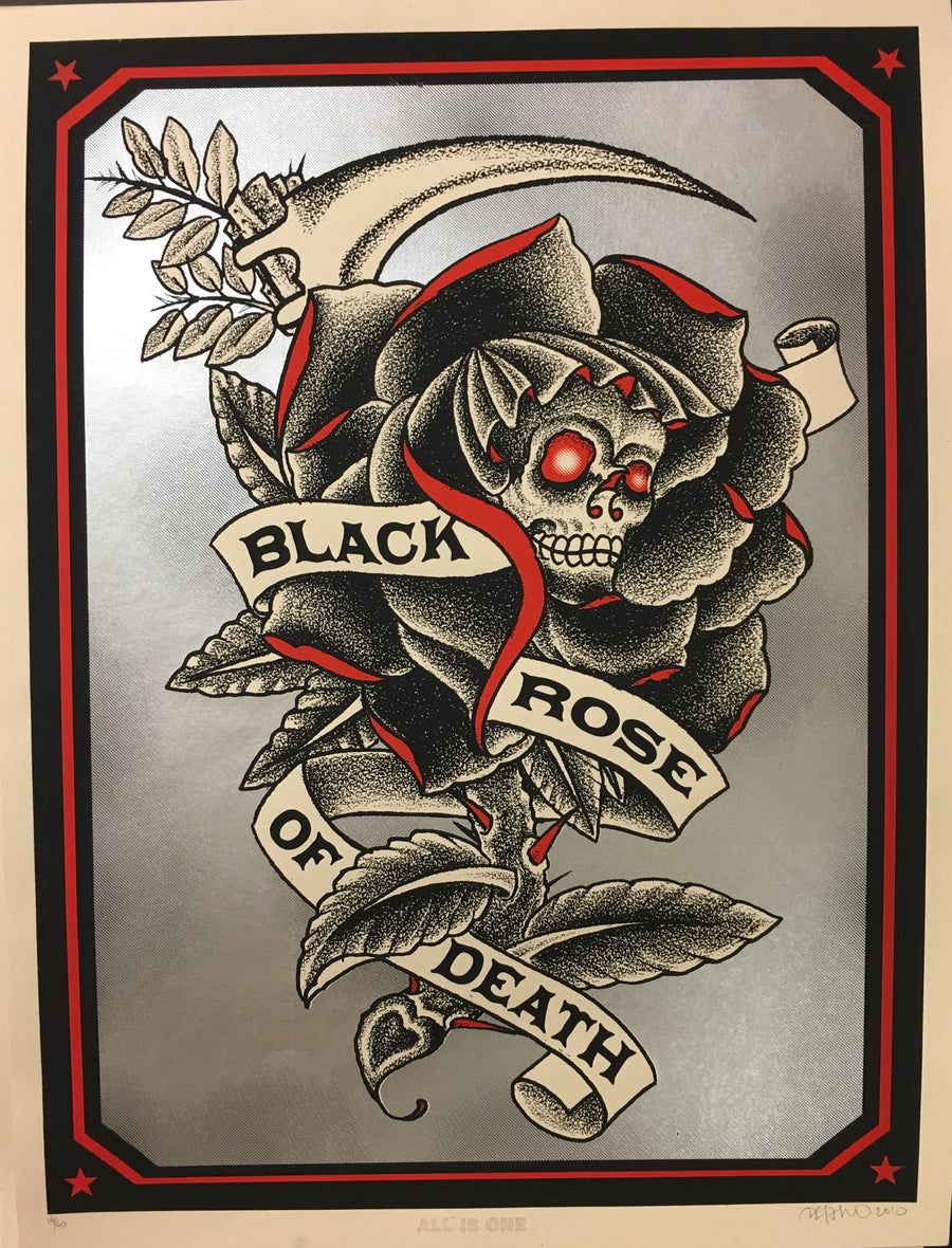 Image of Black Rose of Death
