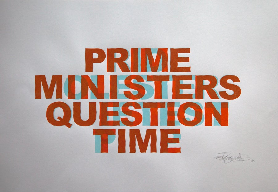 Image of Prime Ministers Question Time - Anaglyph Edition