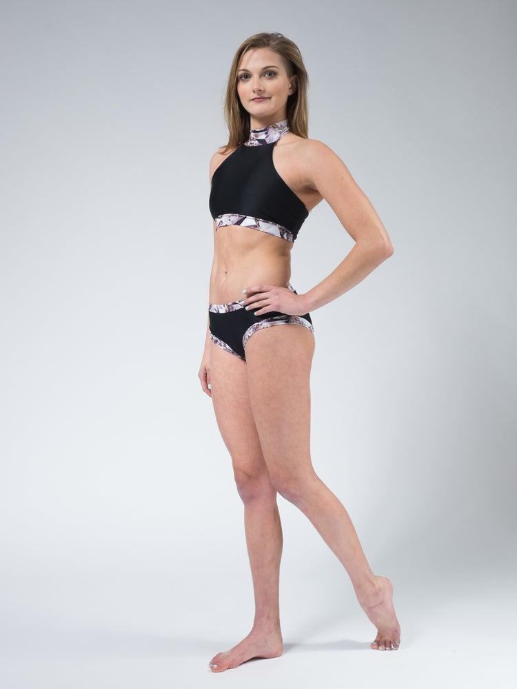 Image of Shattered Jade Shorts in Black