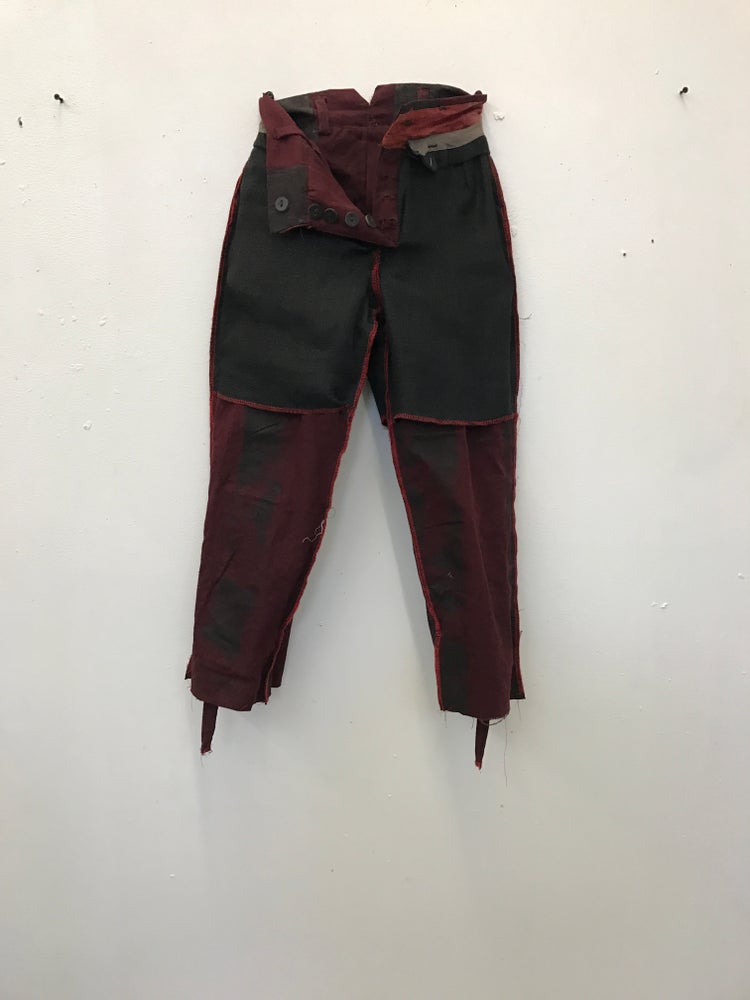 Image of Wright Cropped Trousers