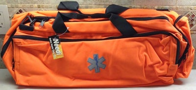 Image of Oxygen O2 Trauma Gear Carry Bag in Orange or Navy Blue