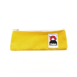 Image of Pencil case - yellow or orange